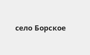 Справочная информация: Банкоматы Почта Банка в селе Борское — часы работы и адреса терминалов на карте